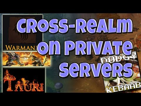Private Warcraft Servers With Cross Realm Play
