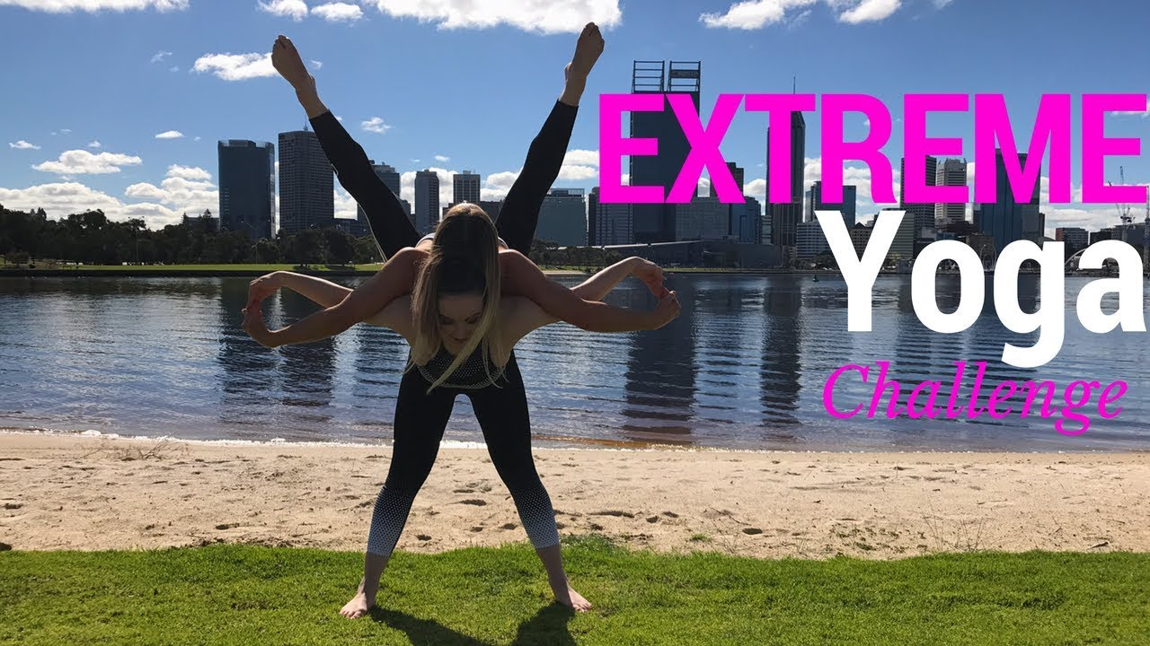 Extreme Yoga Challenge Part 2!!!! - YouTube