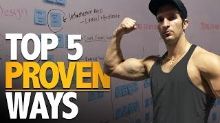 5 Proven Ways To Gain Muscle Mass For Skinny Guys (CHEAT 1X PER DAY?!))