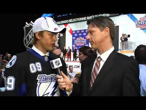 NHL Draft 2009- #2 Victor Hedman- Tampa Bay Lightning Interview