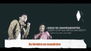 Ianao no Andriamanitro Karaoke By Elisa RHEN