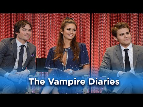 Nina, Ian, and Paul Wow the Fans: The Vampire Diaries at PaleyFest LA from YouTube · Duration:  10 minutes 33 seconds