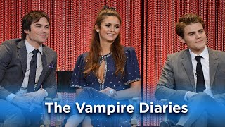 Nina, Ian, and Paul Wow the Fans: The Vampire Diaries at PaleyFest LA