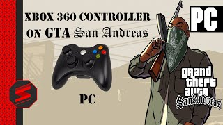 How To Use Xbox 360 Controller on GTA San Andreas PC - SNYTECHHD