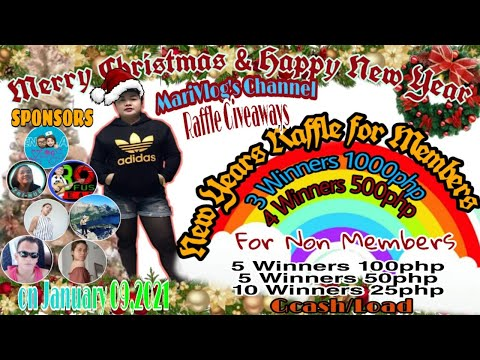 Pa entry na for New Years Raffle Entry   Quick Livestream   MariVlog's Channel