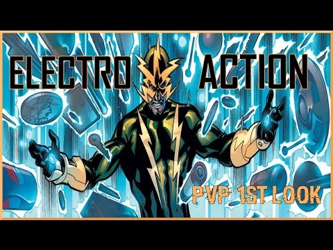 Marvel Avengers Alliance: Electro First Look In PvP