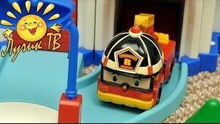Команда спасателей ловит нарушителя. Робокар Поли смотреть онлайн.  Мультики для детей 0+