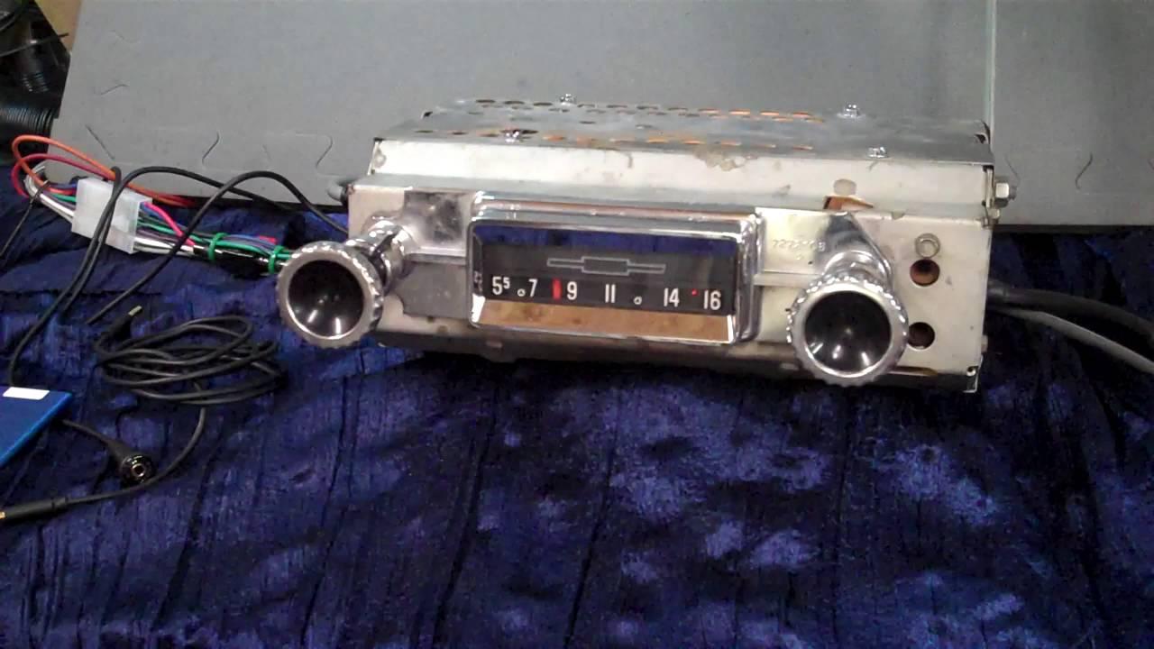 1960 63 chevy c10 original am radio