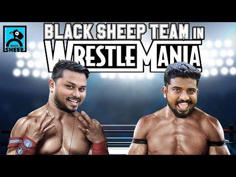BLACK SHEEP TEAM IN WRESTLEMANIA | PROMO #3 | NAVAYUGA RATHAKANNEER | BLACK SHEEP
