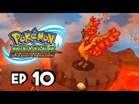 Pokemon Ranger Guardian Signs Part 10 MOLTRES! Gameplay Walkthrough