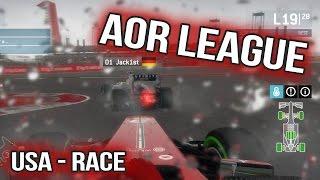 F1 2013 - AOR - USA - Wet Race
