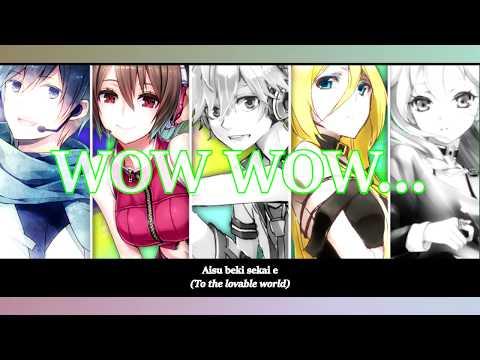 【Len, Meiko, Lily, Kaito & IA】Law-Evading Rock || VOCALOID ||