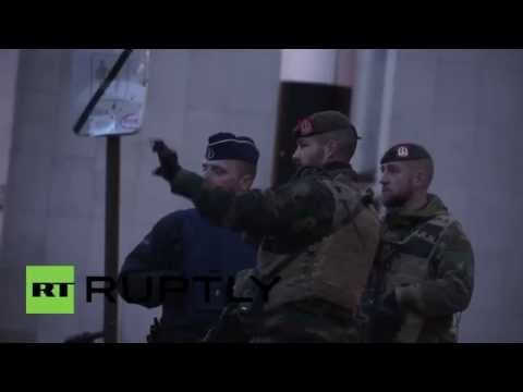 Belgium: Soldiers patrol streets of Brussels amid fears of 'imminent' attack