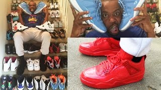 SO MUCH HEAT! CashNasty's Updated Shoe Collection! BOUGHT NEW PAIR OF HEAT!