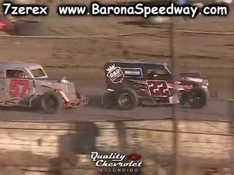 Dwarf Car Heat 3 Barona Speedway 5-20-2017