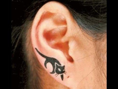 Tatuajes En Las Orejas Ideas Para Tu Tatuaje Youtube