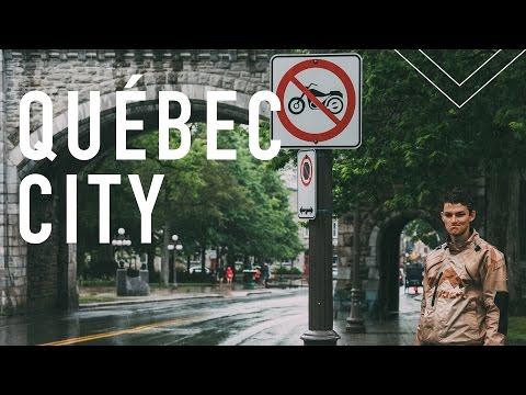 Québec City Motorcycle Trip