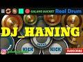 Dj Haning Dayak_Lagu Tik Tok.   Real drum cover (Galang Backet)