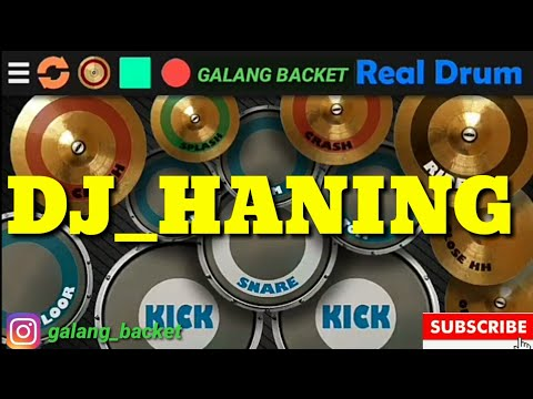 dj-haning-dayak_lagu-tik-tok.-real-drum-cover-(galang-backet)