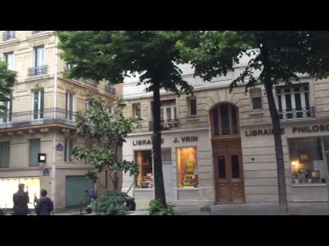 Paris, Square Sorbonne