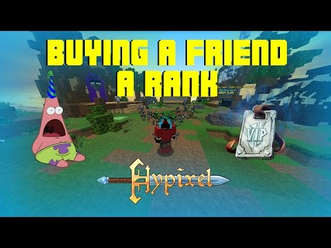 Buying Friend Rank On Hypixel