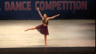 Jordan Barker-SILENCE Lyrical Teen Solo KAR Dance Competition