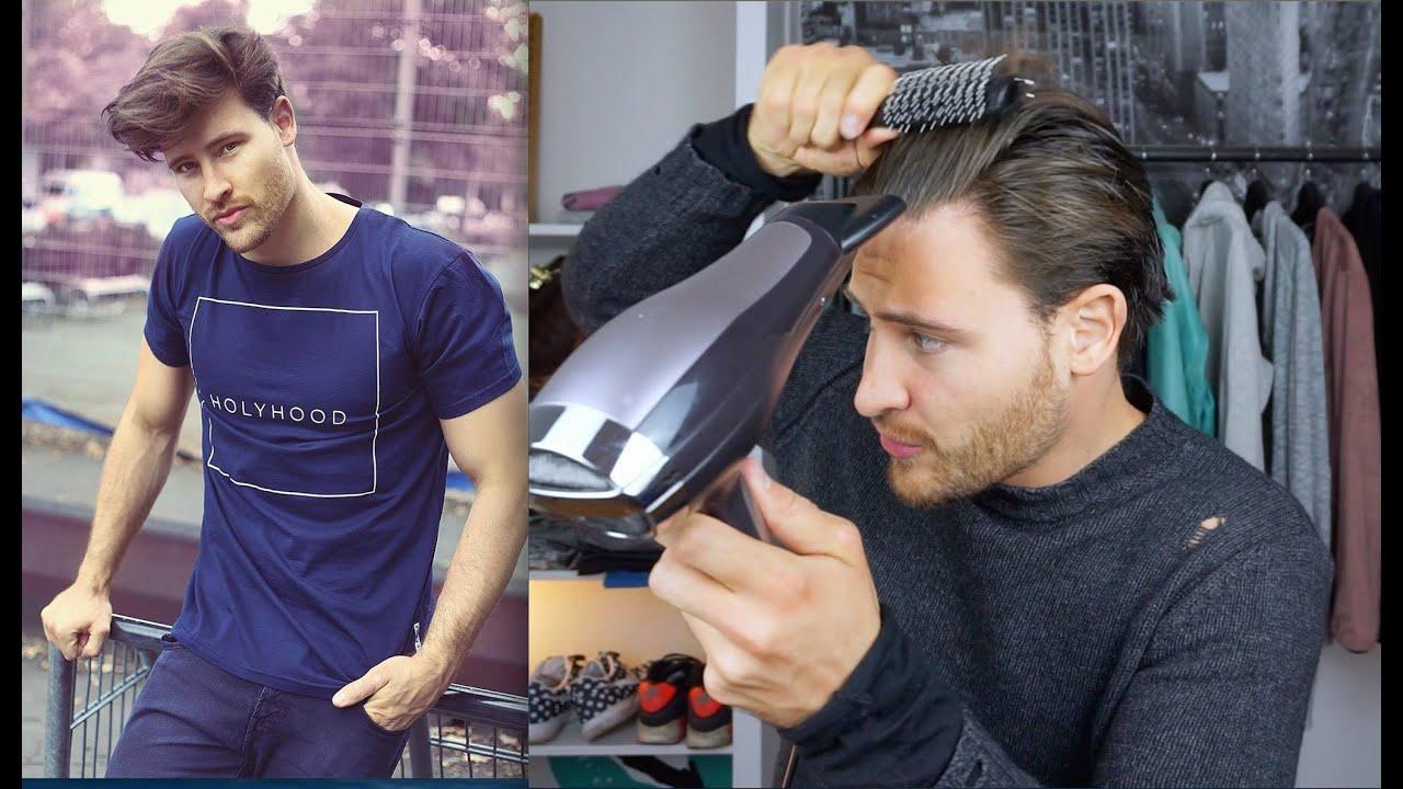 Haarstyling TUTORIAL fr Mnner  bei mittellangen Haaren