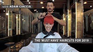 || How to cut a Fire Red Pixie Cut ||  by Adam Ciaccia