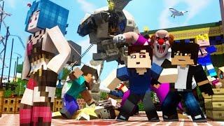 MANNEQUIN CHALLANGE (Minecraft Animation) - FrediSaalAnimations