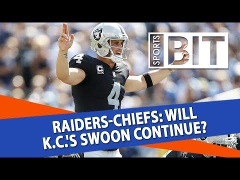 Oakland Raiders at Kansas City Chiefs | Sports BIT | NFL Picks