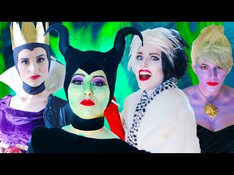Disney Villains - The Musical feat....