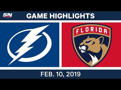 NHL Highlights | Lightning vs. Panthers - Feb 10, 2019