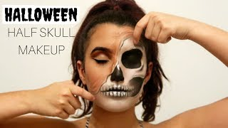 how to do skull makeup