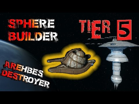 Sphere Builder Arehbes Destroyer [T5] – with all ship visuals - Star Trek Online