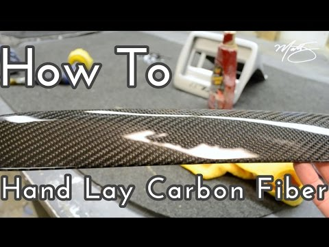 How To Hand Lay Carbon Fiber
