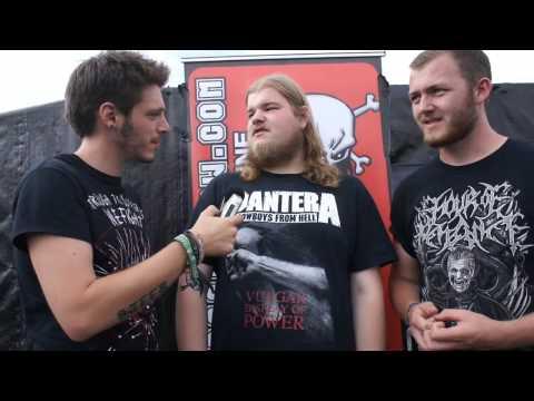 No Sin Evades His Gaze Bloodstock Interview 2014