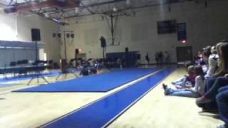 6th Grade Gymnast Amazes Talent Show Crowd