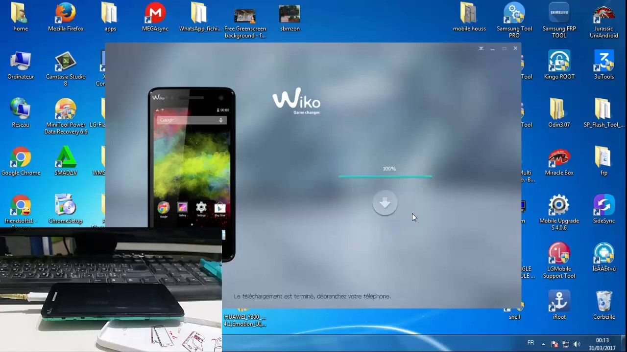 How To Flash Wiko RAINBOW