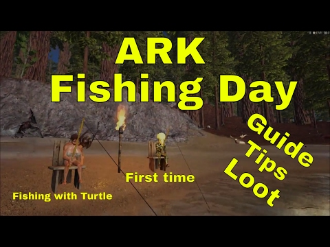 Full download all about fishing locations and loot ark for Survival fishing games