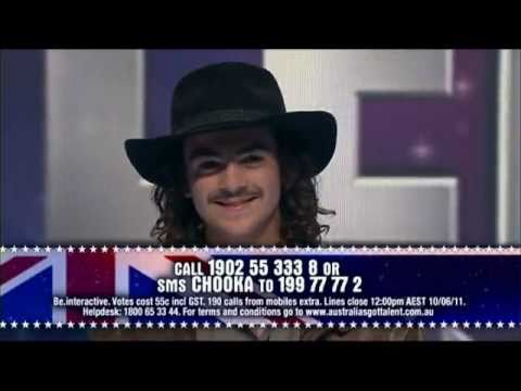 Thumbnail: Australia's Got Talent 2011 - Chooka @ Semi Final