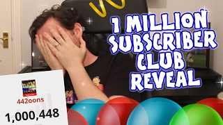 🔥1 MILLION SUBSCRIBERS CLUB REVEAL🔥