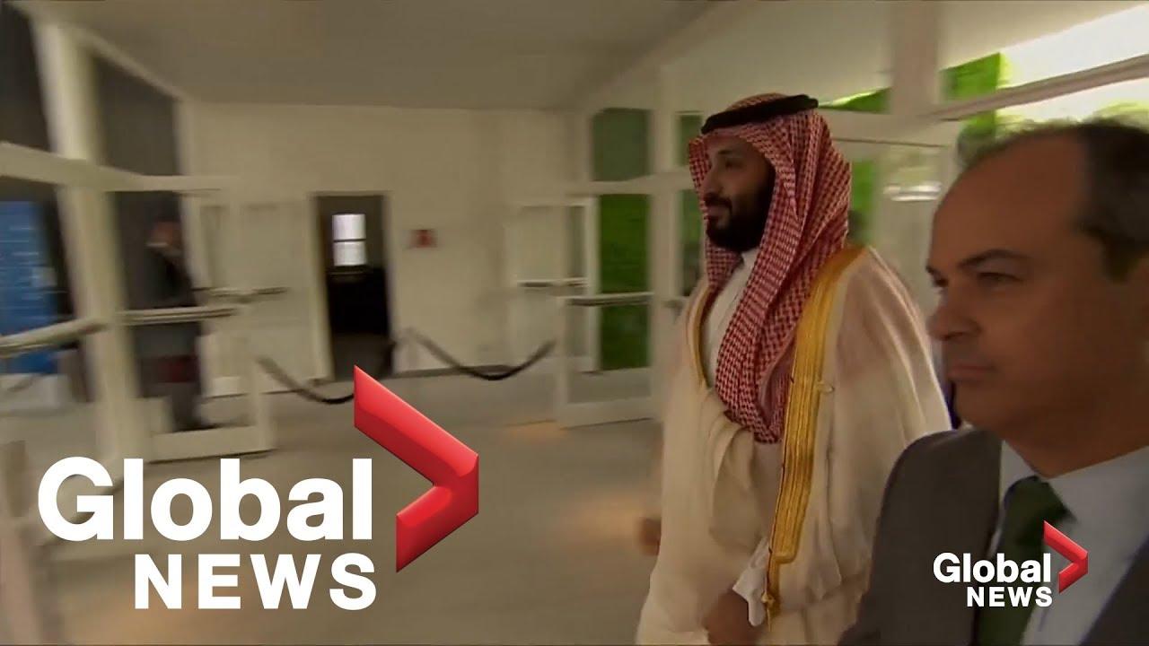 Download Saudi Crown Prince Mohammed bin Salman arrives at G20 summit