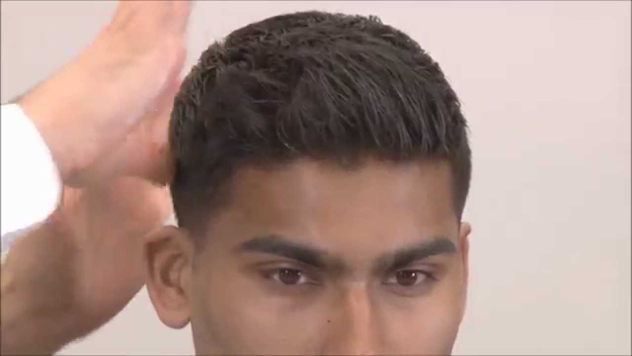 scissor fade haircut medium fade with scissors on top part 5 3844