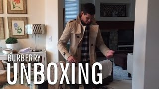 Unboxing My Burberry Trench