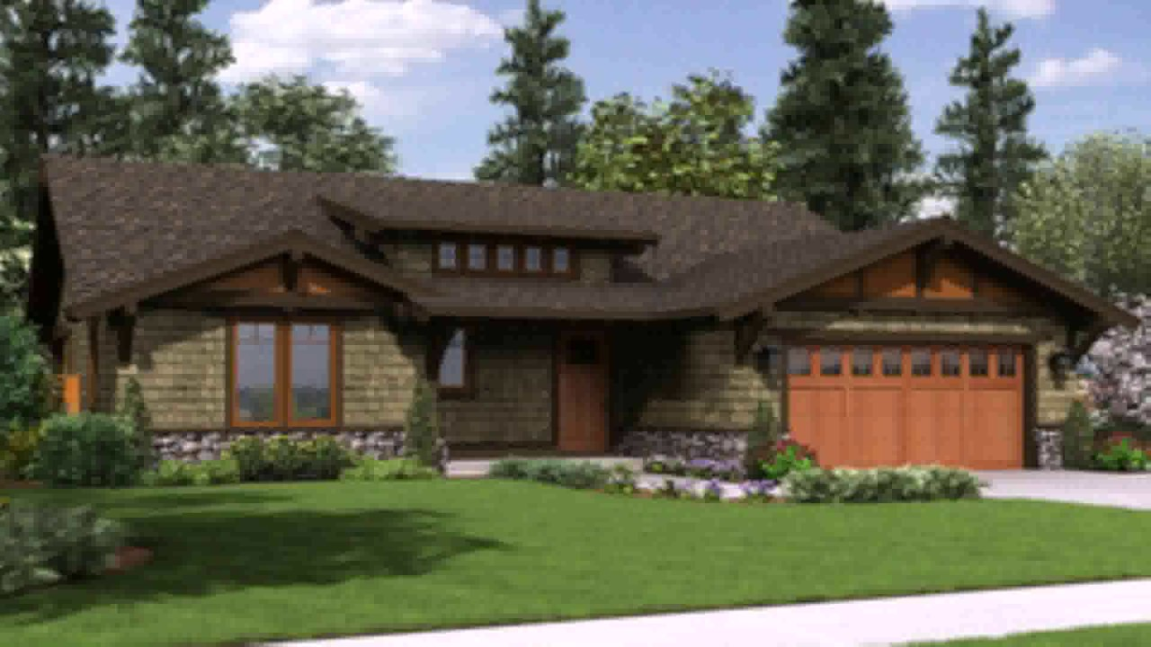 Craftsman Style House Plans Under 1600 Square Feet   YouTube Craftsman Style House Plans Under 1600 Square Feet