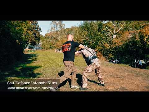 Aggressions- & Deeskalationstechniken beim Self-Defence Intensiv Kurs