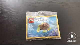 Unboxing Creator Lego 30476 // Ask Ink Sisters