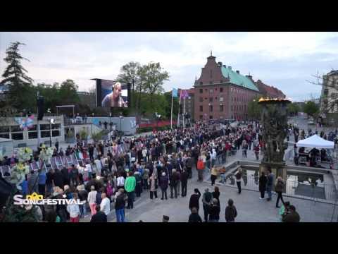 Officiele opening Eurovisie Songfestival 2013 - Malmö, Zweden