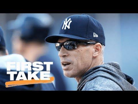 First Take Reacts To Joe Girardi Not Returning As Yankees Manager In