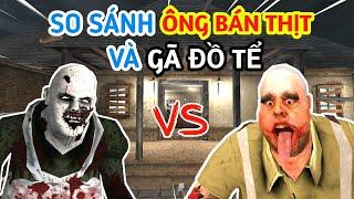 LongHunter So Sánh Ông Bán Thịt và Gã Đồ Tể| Mr.Meat vs Psychopath Hunt